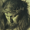 Head Of Christ by Franz Von Stuck