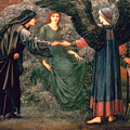 Heart Of The Rose by Sir Edward Burne-Jones