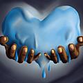 Heart Of Water by Kenal Louis