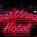 Heartbreak Hotel Neon by Garry Gay