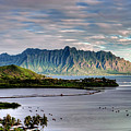 He'eia Fish Pond And Kualoa by Dan McManus