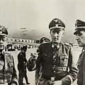 Heindrich Himmler Leftand Heydrich by Everett