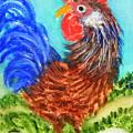 Hen With Egg by Fernando Armel