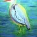 Heron by Lauren Mooney Bear