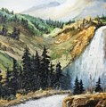 Hiawatha Falls by Larry Doyle