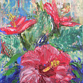 Hibiscus Abstract by Barbara Harper