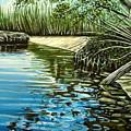 Hidden Beach by Elizabeth Robinette Tyndall