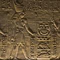 Hieroglyph At Edfu by Darcy Michaelchuk
