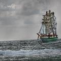 High Seas Sailing Ship by Randy Steele