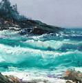 High Surf by Sally Seago