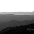 Highland Skyline 2 by Tina Meador
