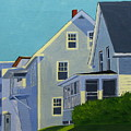 Hill Houses by Laurie Breton