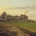 Hill Top by Heinrich Stuhlmann