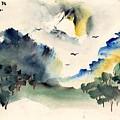 Hills And Trees by Padamvir Singh