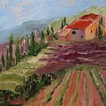 Hills Of Lavender by Barbara Andolsek
