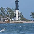 Hillsboro Inlet Lighthouse by John Zawacki