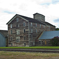 Historical Barron Wheat Flour Mill In Oakesdale Wa by Louise Magno