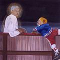 Hockey God by Ken Yackel
