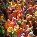 Holi India by Tayseer AL-Hamad