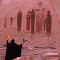 Holy Ghost Petroglyph Into The Mystic by Bob Christopher