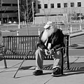 Homeless Man by Angus Hooper Iii