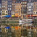 Honfleur France by Ann Garrett