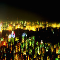 Hong Kong Harbor Abstract by Brad Rickerby
