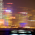Hong Kong Harbor Abstracted by Brad Rickerby