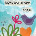 Hopes And Dreams Soar by Linda Woods