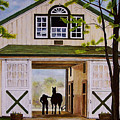 Horse Barn by Michael Lewis
