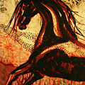 Horse Through Web Of Fire by Carol Law Conklin