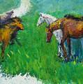 Horses by Guanyu Shi