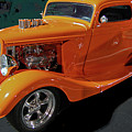 Hot Rod Orange by DigiArt Diaries by Vicky B Fuller