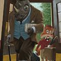 Hotel Rhino And Porter Fox by Martin Davey