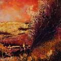 Houyet In Fall by Pol Ledent