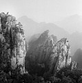 Huangshan Peaks by Vincent Boreux Photography