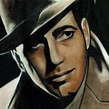 Humphrey Bogart by Elizabeth Silk