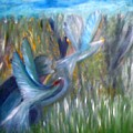 Hunter Aiming by Philip Okoro