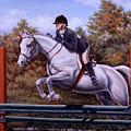 Hunter Pony by Richard De Wolfe