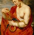 Hygeia - Goddess Of Health by Peter Paul Rubens