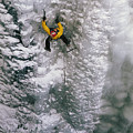 Ice Climbing In The South Fork Valley by Bobby Model