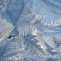 Ice Crystals by Rhonda Barrett