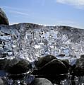 Ice On Rocks 3 by Sami Tiainen