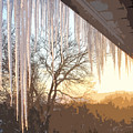 Icicles One by Ian  MacDonald