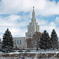 If Temple After Snow by DeeLon Merritt