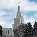 If Temple Dusted In Snow by DeeLon Merritt