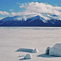 Igloo On Atlin Lake - Bc by Juergen Weiss