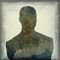 Illustration Of A Human Bust. Silhouette by Bernard Jaubert