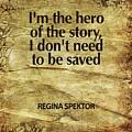 I'm The Hero by Cindy Greenbean