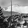 Imperial Bowl And Peak 8 At Breckenridge Resort Colorado by Brendan Reals